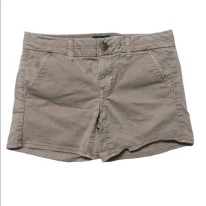 American eagle outfitter stretch khaki shorts